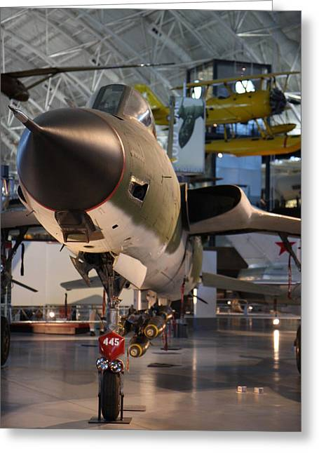 Udvar-hazy Center - Smithsonian National Air And Space Museum Annex - 121225 Greeting Card