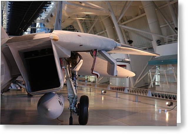 Udvar-hazy Center - Smithsonian National Air And Space Museum Annex - 121239 Greeting Card by DC Photographer