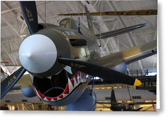 Udvar-hazy Center - Smithsonian National Air And Space Museum Annex - 12124 Greeting Card by DC Photographer