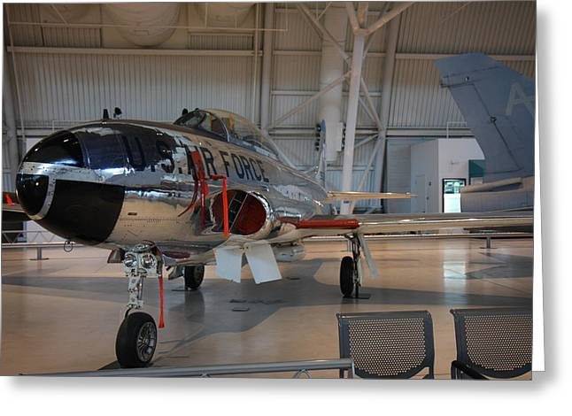 Udvar-hazy Center - Smithsonian National Air And Space Museum Annex - 121242 Greeting Card by DC Photographer