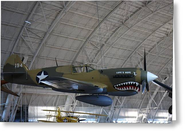 Udvar-hazy Center - Smithsonian National Air And Space Museum Annex - 121251 Greeting Card by DC Photographer
