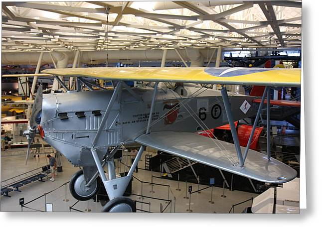 Udvar-hazy Center - Smithsonian National Air And Space Museum Annex - 121252 Greeting Card by DC Photographer