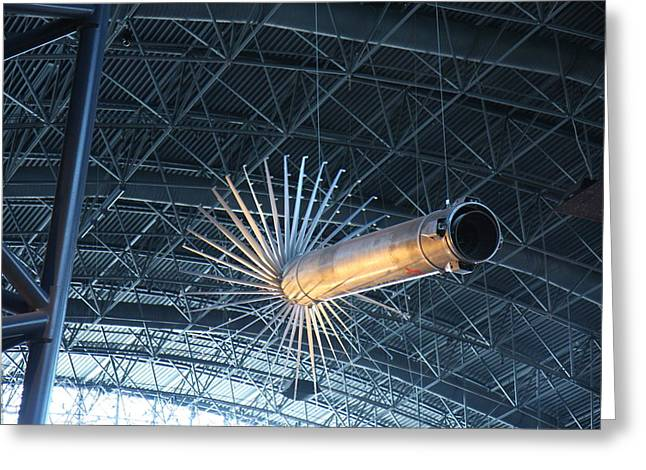 Udvar-hazy Center - Smithsonian National Air And Space Museum Annex - 121263 Greeting Card by DC Photographer