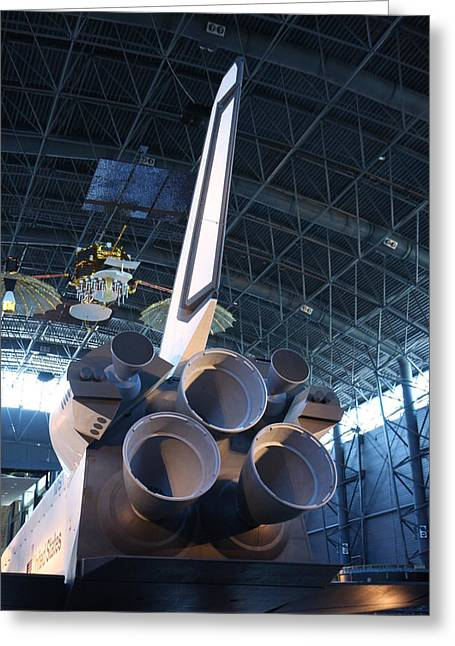 Udvar-hazy Center - Smithsonian National Air And Space Museum Annex - 121269 Greeting Card