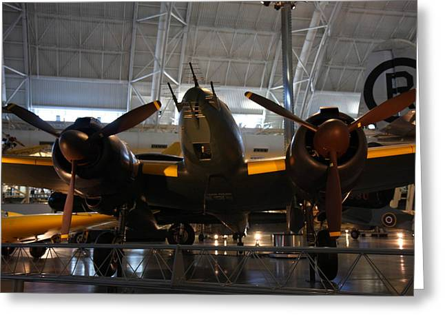 Udvar-hazy Center - Smithsonian National Air And Space Museum Annex - 121284 Greeting Card by DC Photographer
