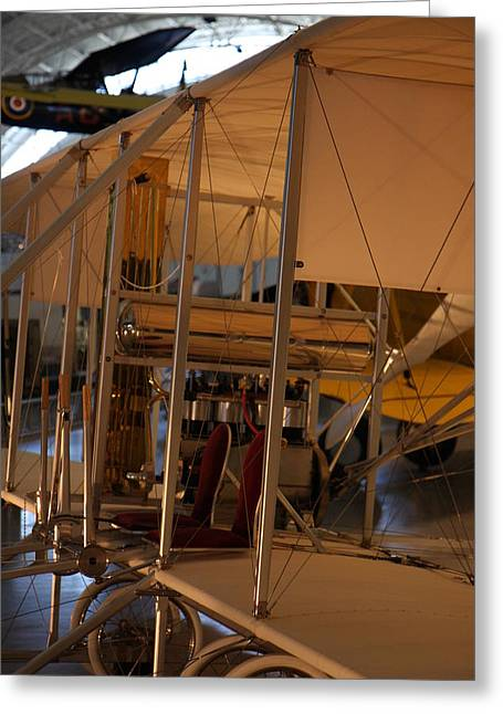 Udvar-hazy Center - Smithsonian National Air And Space Museum Annex - 121297 Greeting Card by DC Photographer