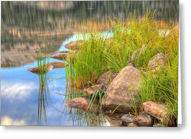 Uinta Reflections Greeting Card