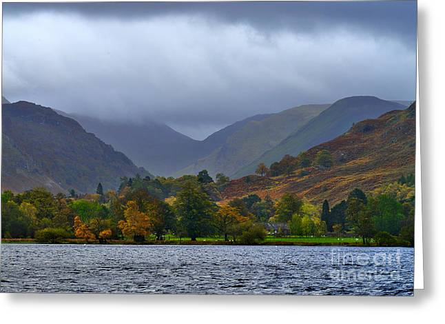 Ullswater Lake District Greeting Card