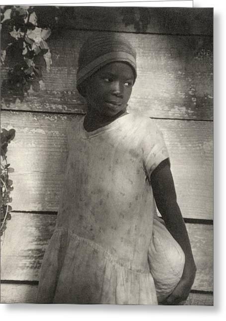 Ulmann Girl, C1930 Greeting Card by Granger