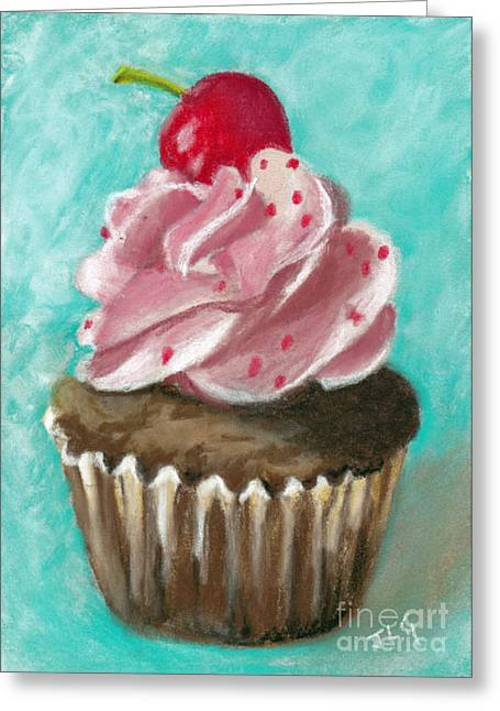 Ultimate Cupcake Greeting Card by Jan Gibson