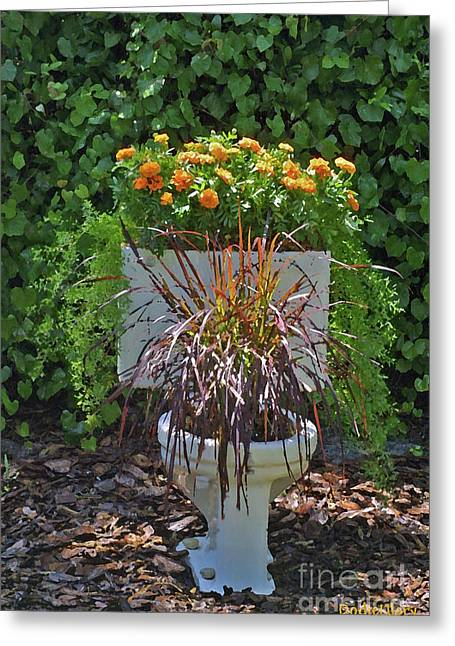 Ultimate Flower Pot 2 Greeting Card
