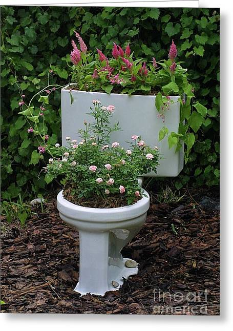Ultimate Flower Pot 3 Greeting Card