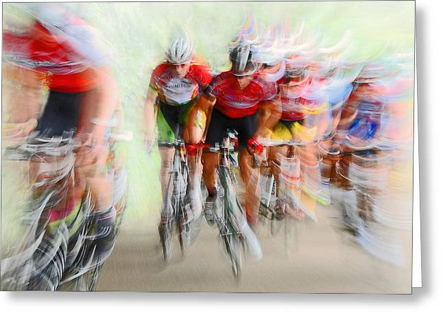 Ultimo Giro # 2 Greeting Card by Lou Urlings