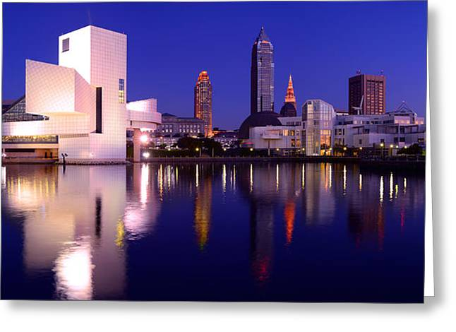 Ultra Rez Cleveland's North Shore Greeting Card