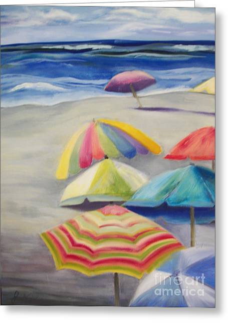 Umbrella Day Greeting Card