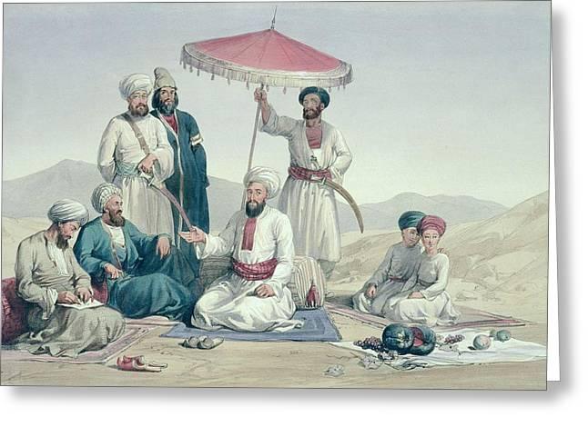 Umeer Dost Mohammed Khan Greeting Card