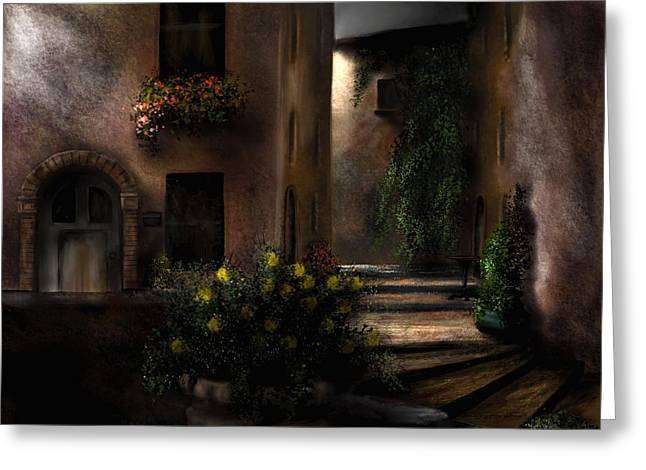Una Notte Tranquilla - A Quiet Night Greeting Card