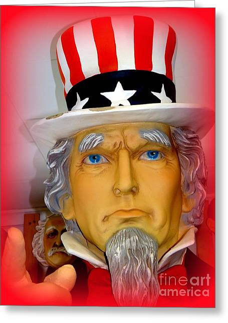 Uncle Sam Wants You Greeting Card