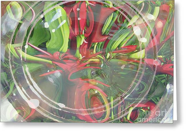 Under Glass Greeting Card
