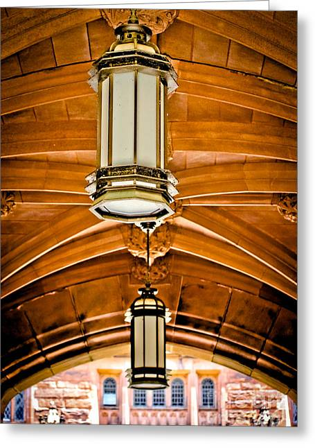 Under The Arches - Princeton University Greeting Card