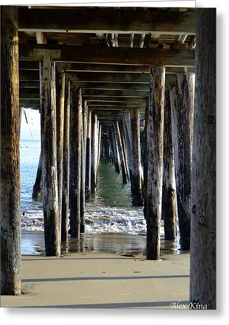 Under The Boardwalk Greeting Card by Alex King