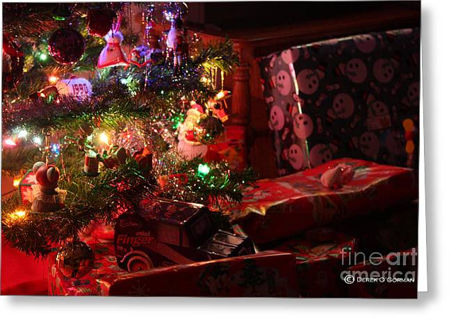 Under The Christmas Tree Greeting Card