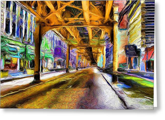 Under The El - 20 Greeting Card