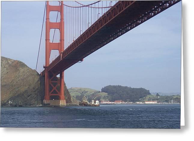 The Golden Gate Bridge San Francisco California Scenic Photography - Ai P. Nilson Greeting Card