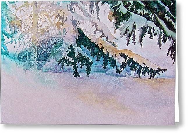 Under The Pines Greeting Card