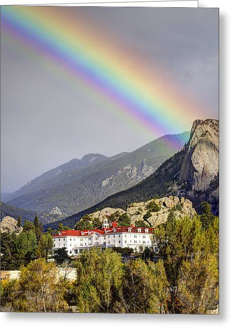 Under The Rainbow Greeting Card by G Wigler