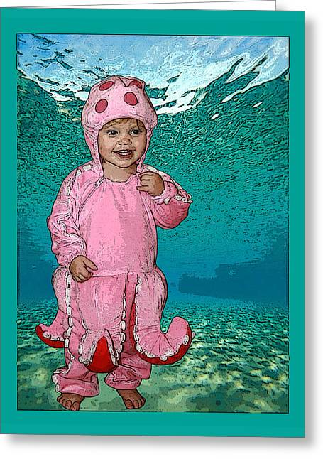 Under The Sea Greeting Card by Ellen Henneke