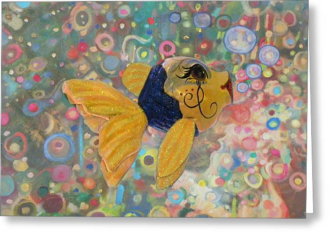 Under The Sea Party Greeting Card by Sandi OReilly