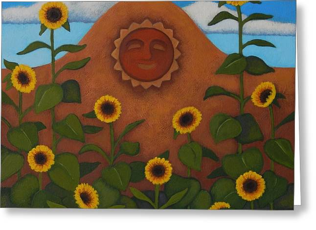 Under The Sun Greeting Card