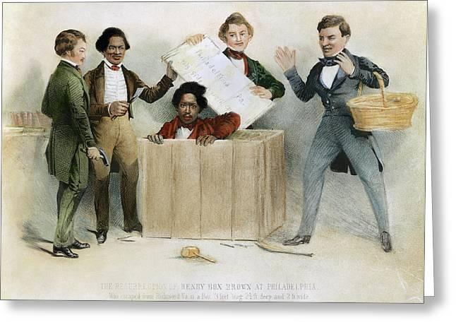 Underground Railroad, 1850 Greeting Card