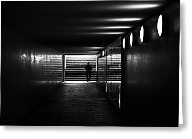 Underpass Berlin Greeting Card