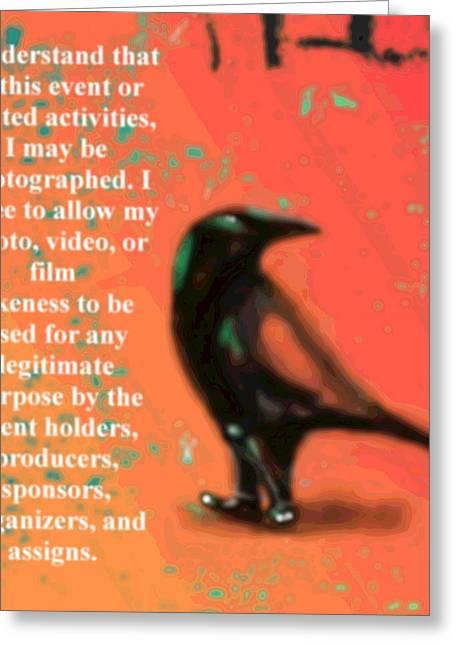 Understanding Corvus Greeting Card