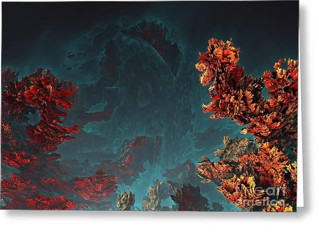 Underwater 5 Greeting Card by Bernard MICHEL