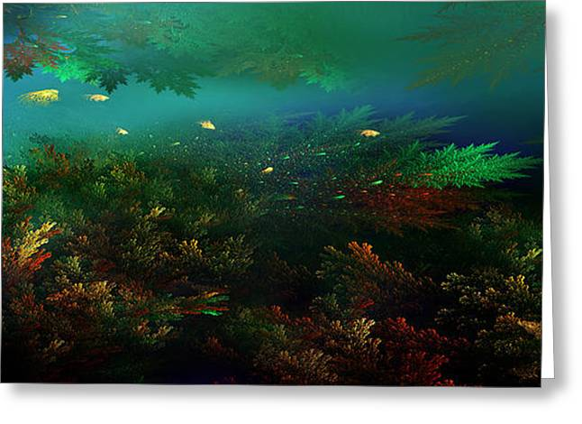 Underwater Paradise Greeting Card by Radoslav Nedelchev