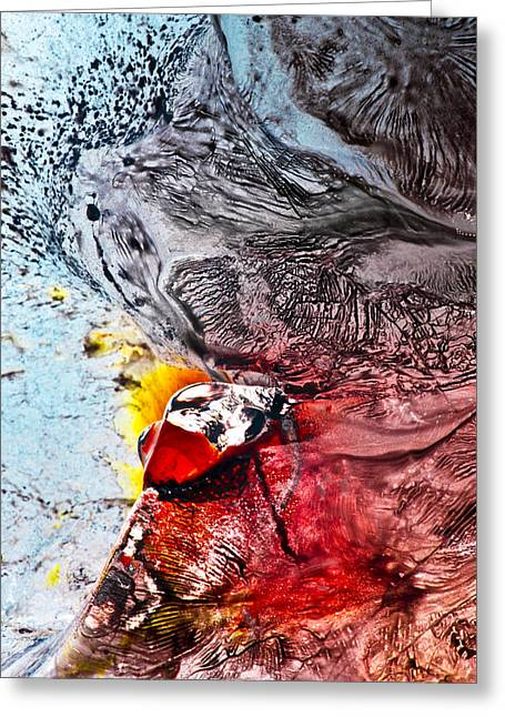 Underworld Feeding Ground Greeting Card by Petros Yiannakas