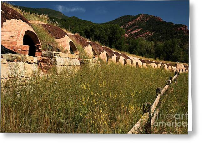 Unemployed Coke Ovens Greeting Card