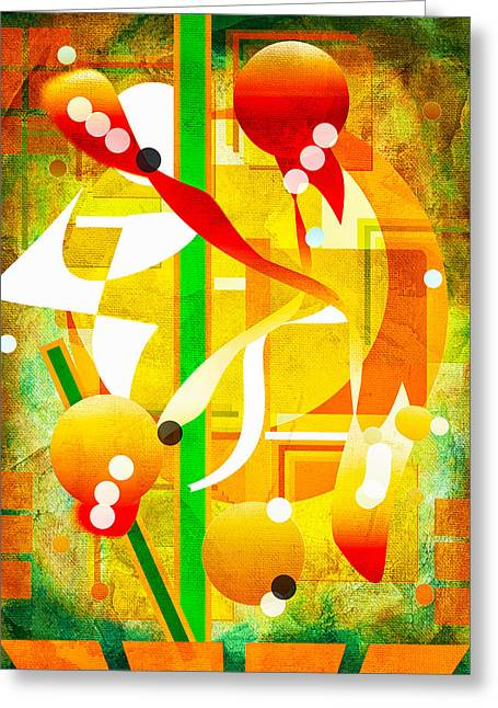 Unforgettable Too Greeting Card by Francine Collier