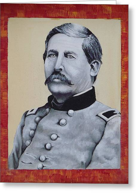 Union General Buford Greeting Card by Martin Schmidt
