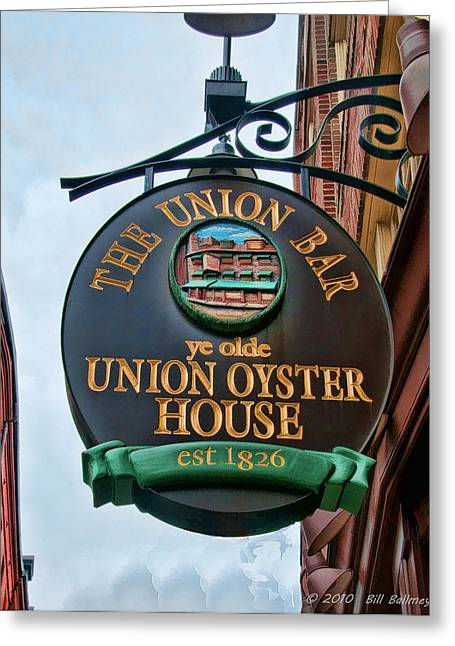 Union Oyster House  Greeting Card by Bill