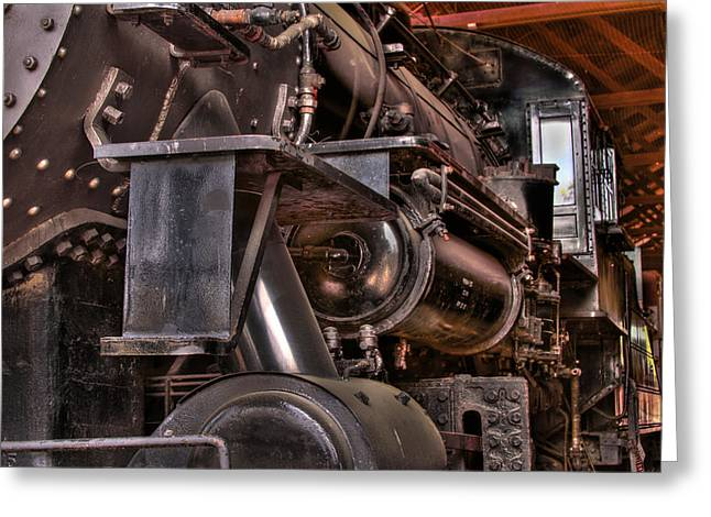 Union Pacific 4466 Greeting Card by Bill Gallagher