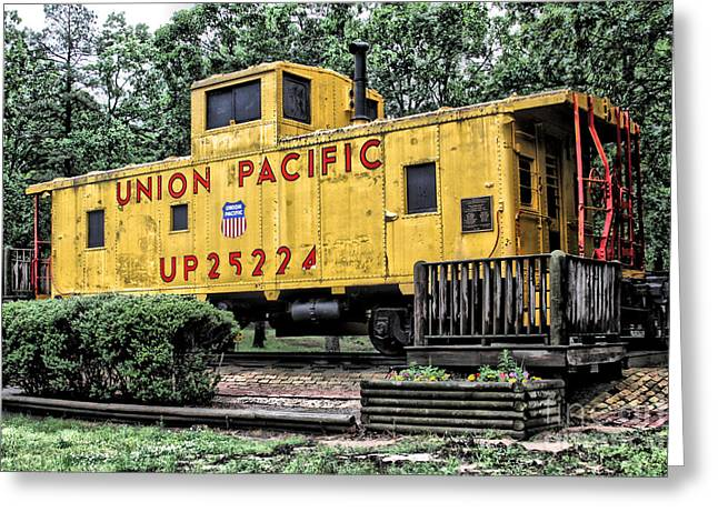 Union Pacific - No.25224 Greeting Card by Joe Finney