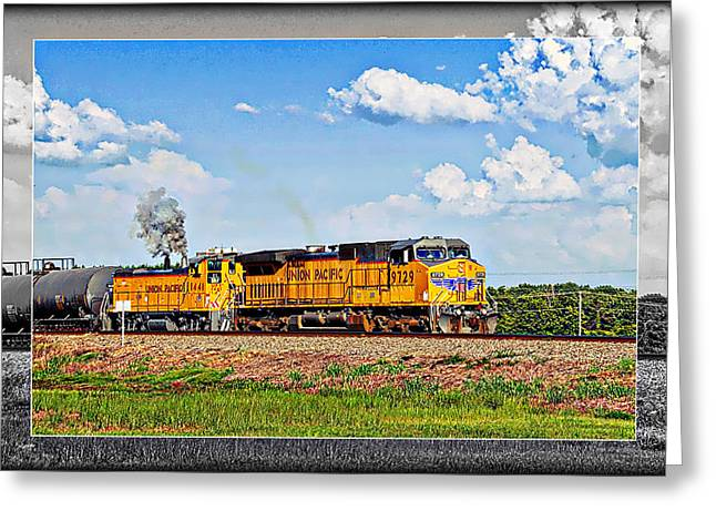 Union Pacific Railroad 2 Greeting Card