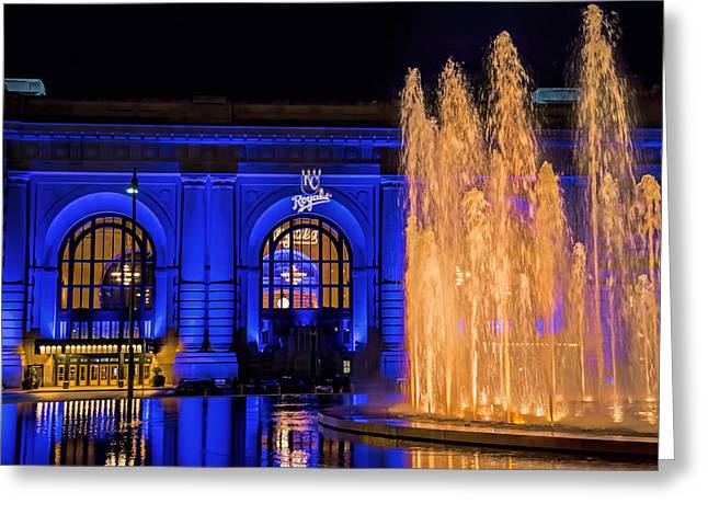 Union Station Celebrates The Royals Greeting Card