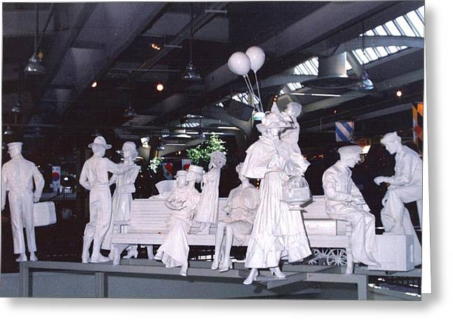 Union Station  Sculpures Greeting Card by Pat Mchale