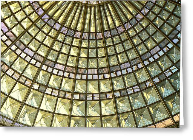 Union Station Skylight Greeting Card