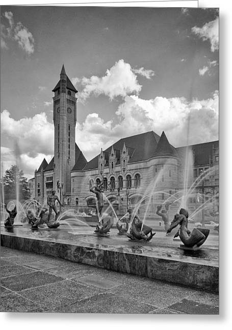 Union Station - St Louis Greeting Card